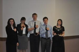 2013 1st Place Team