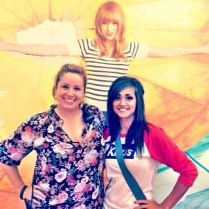 Bryant and co-worker on tour now with Taylor Swift!