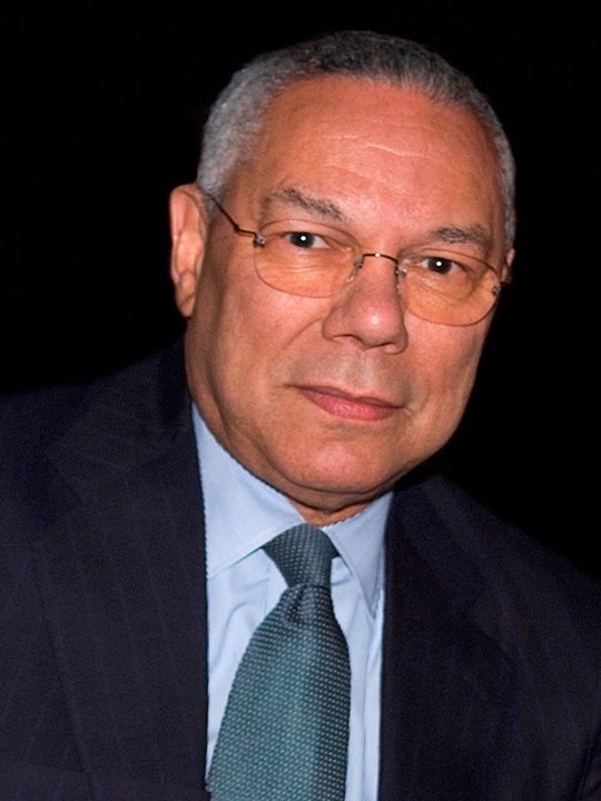 David D. Glass Lecture Series co-sponsors General Colin Powell's visit to campus