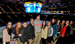EMA students at Madison Square Garden
