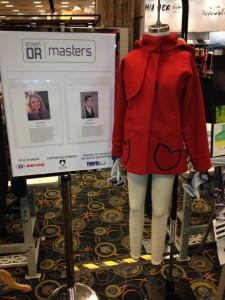 Red Children's coat