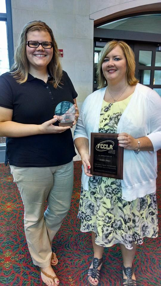 Family and Consumer Sciences representatives win two awards at national conference