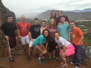 EMA students at Camelback Mountain