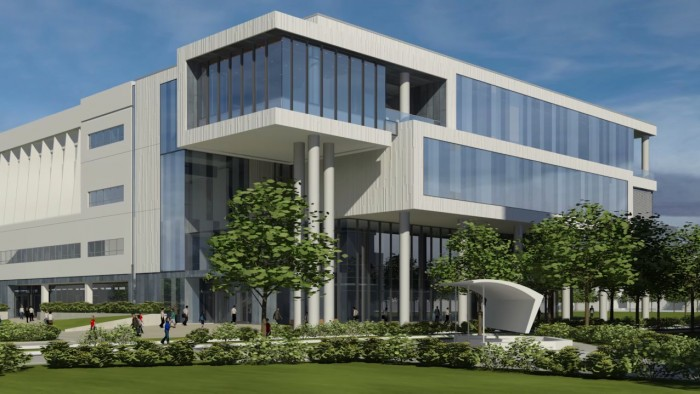 Glass Hall rendering