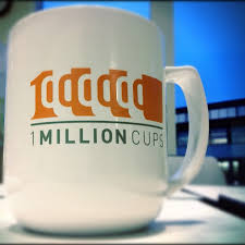 coffee cup with logo