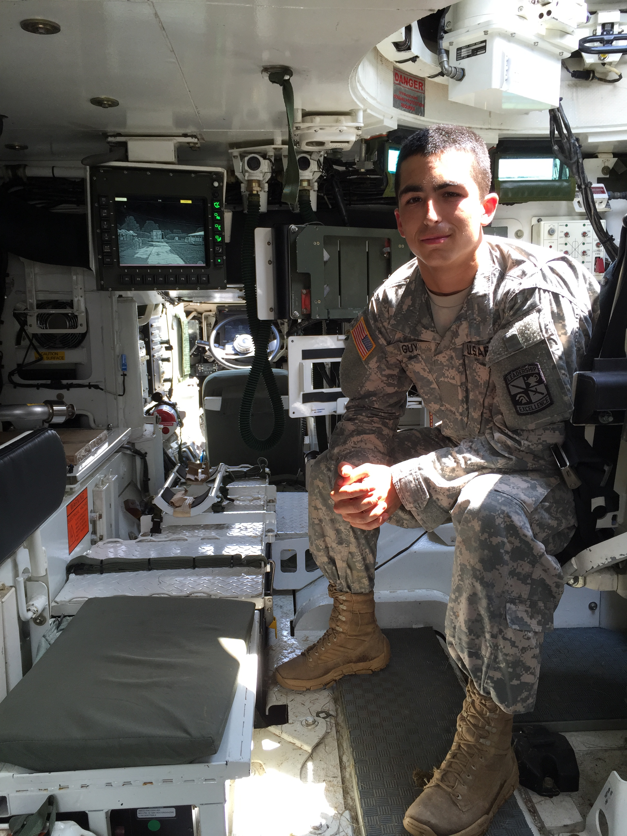 Business Student Balances Classes and ROTC
