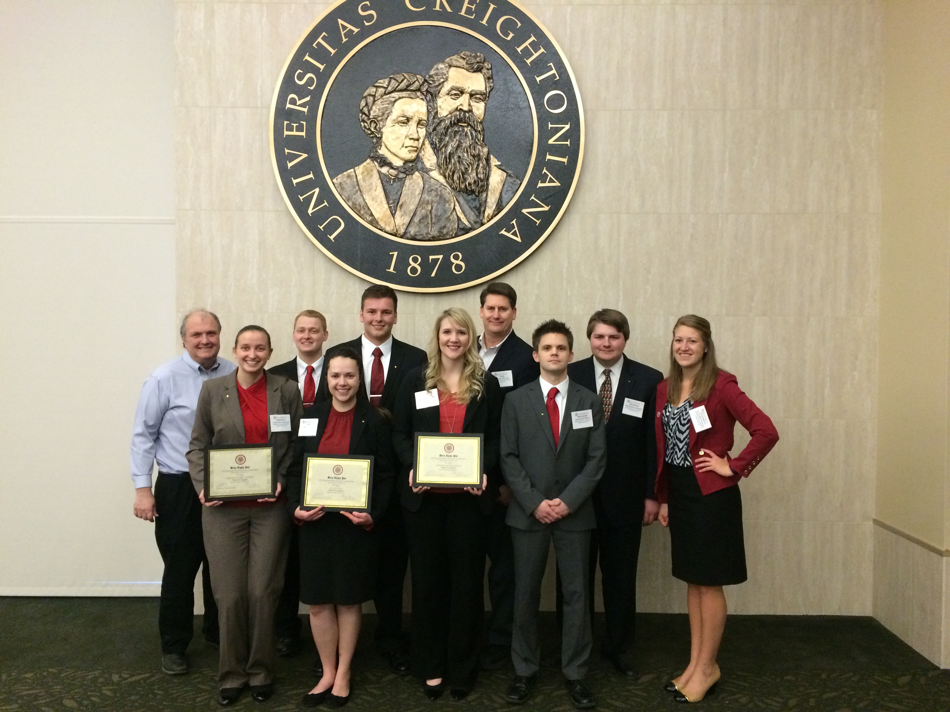 Beta Alpha Psi students sweep first place at regional competition