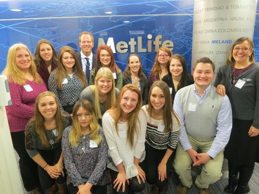 Business students visit Ireland
