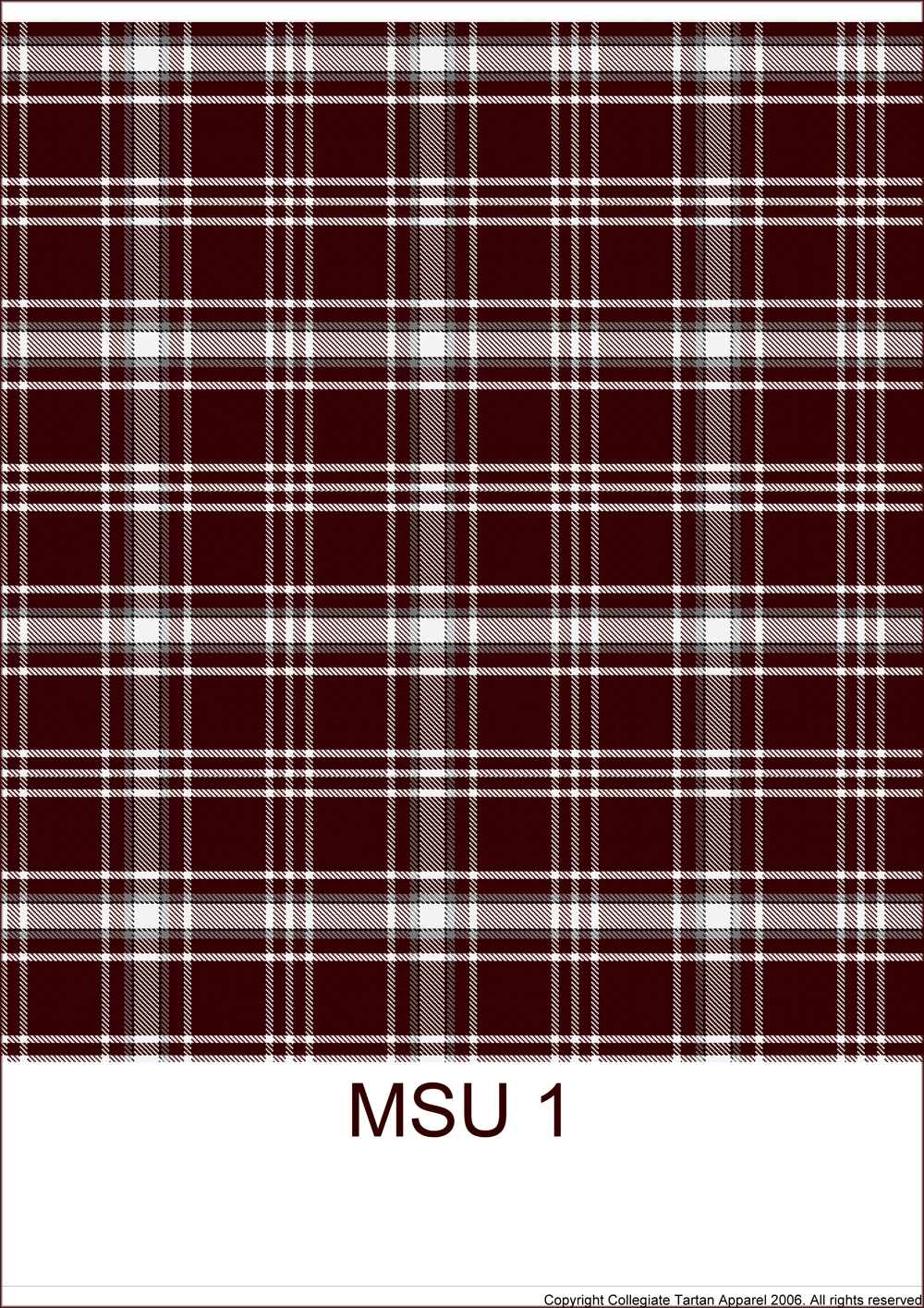 Vote for Missouri State's official tartan