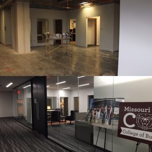 July 26 and August 26 view of the Dean's Office