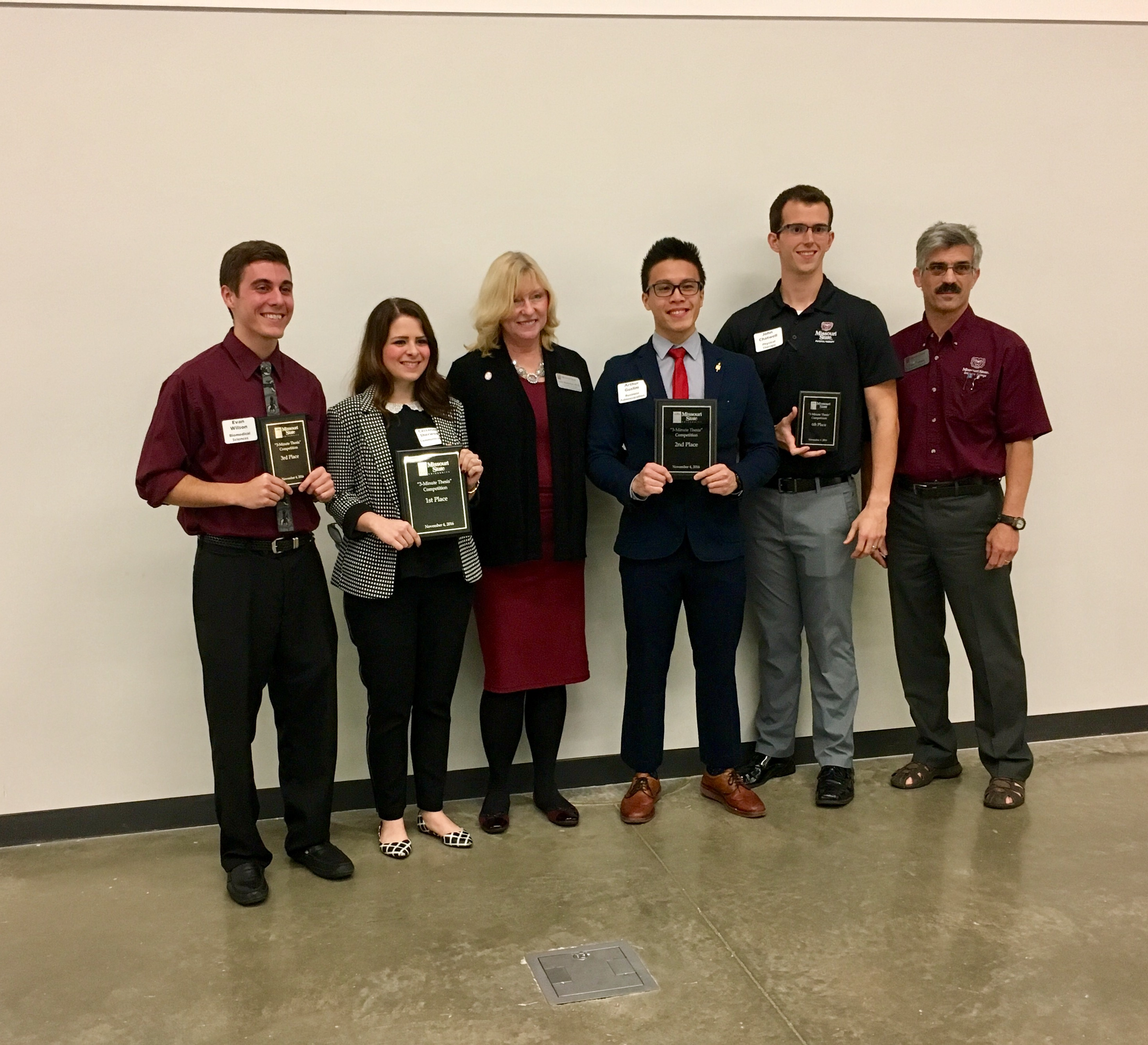 MBA Student Takes 2nd Place at Three Minute Thesis Competition