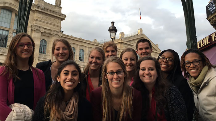 Students Visit Europe as part of Study Away Trip