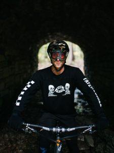 Smith on bike