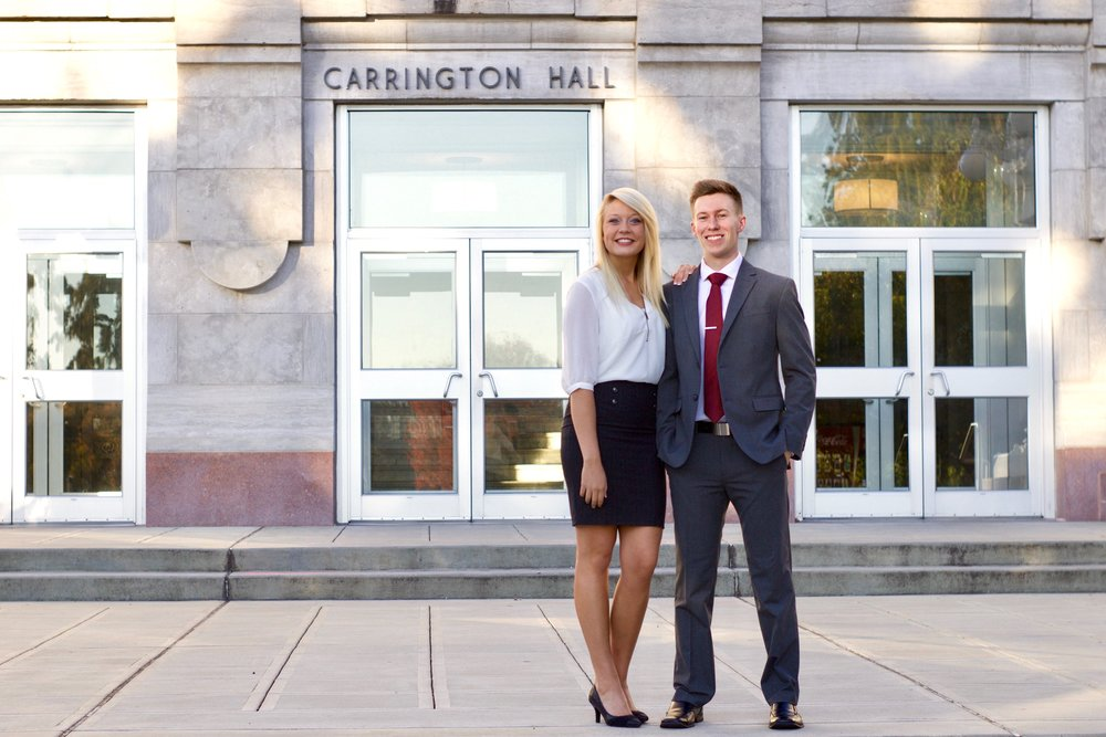 Student Success: Business students take on campus leadership rolls