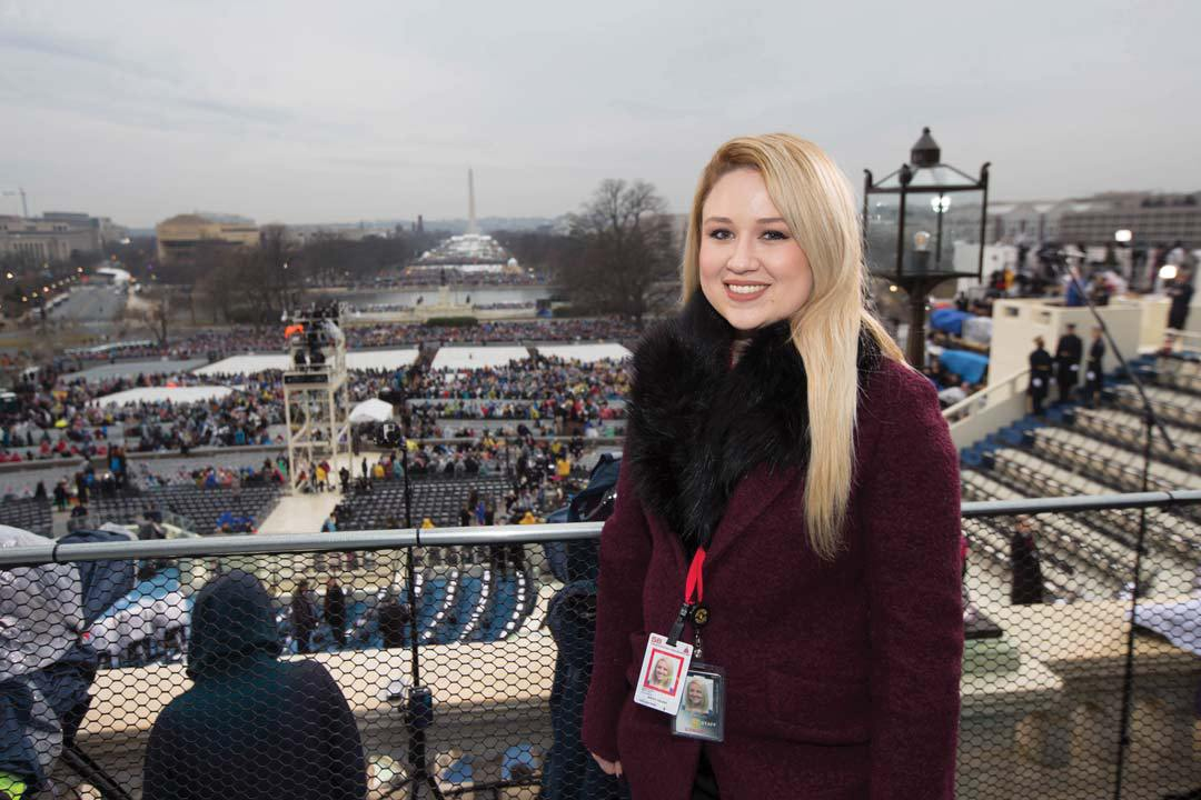 Recent alumna now works on Capital Hill