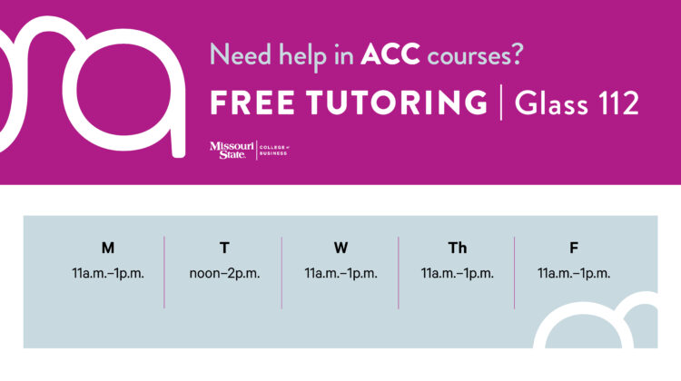 Accounting Tutoring Hours