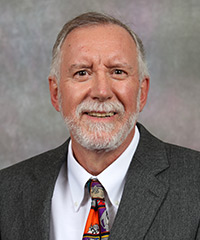 Portrait of Michael Hammond.