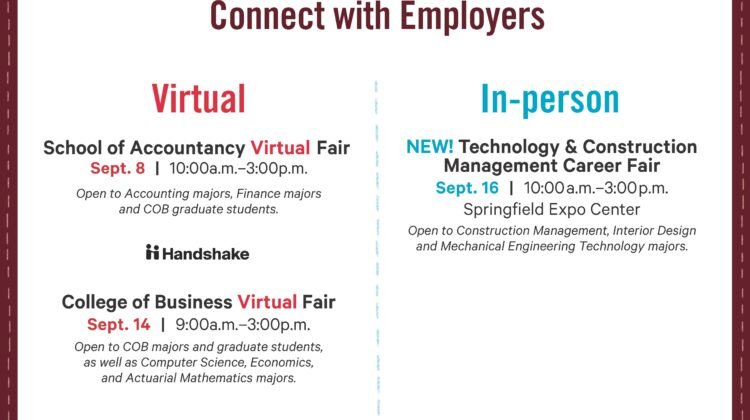 Fall 2020 Career Fair Details