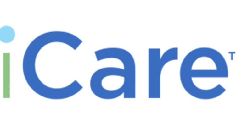 "The ""iCare"" logo for one of Harmony House's campaigns"