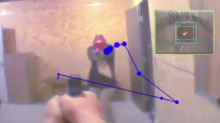 Dr. Sandel's research with ALERRT involved the strategies and eye-tracking of active shooters