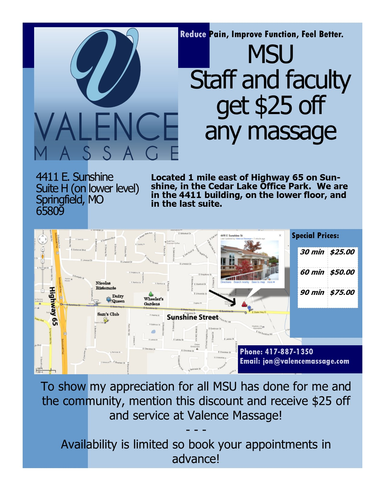 Valence Massage of Springfield