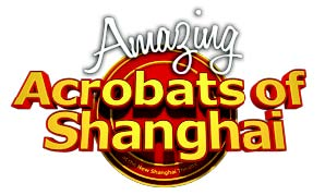 Amazing Acrobats of Shanghai logo.