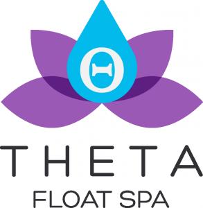 The Theta Float Spa logo.