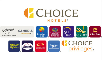 A List Of Choice Hotels And Their Logos