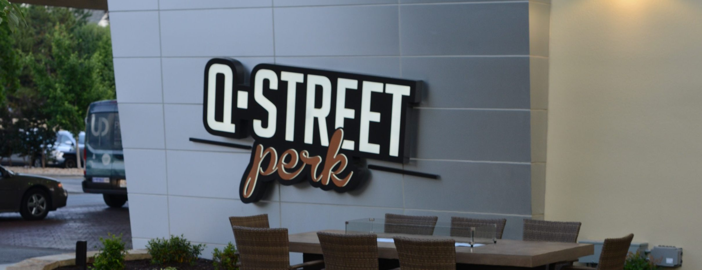 Q Street Perk Coffee Shop