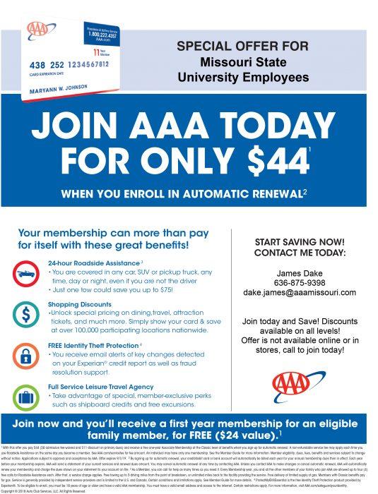 AAA flyer