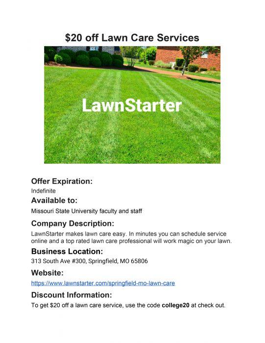 Lawnstarter details