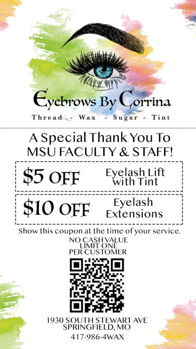 Eyelashes coupon