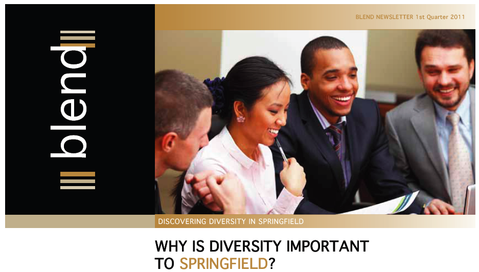 The Blend – Public institutions in Springfield publish a diversity newsletter