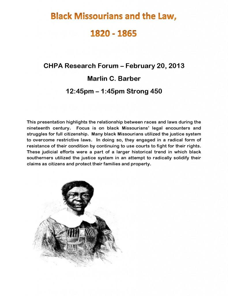 CHPA Flyer