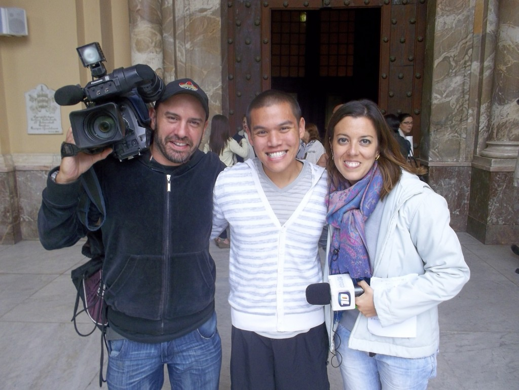 I was interview by a news crew March 13th, 2013, the day Francisco I rose to Popehood. I gave them a foreigner's perspective on the recent development.