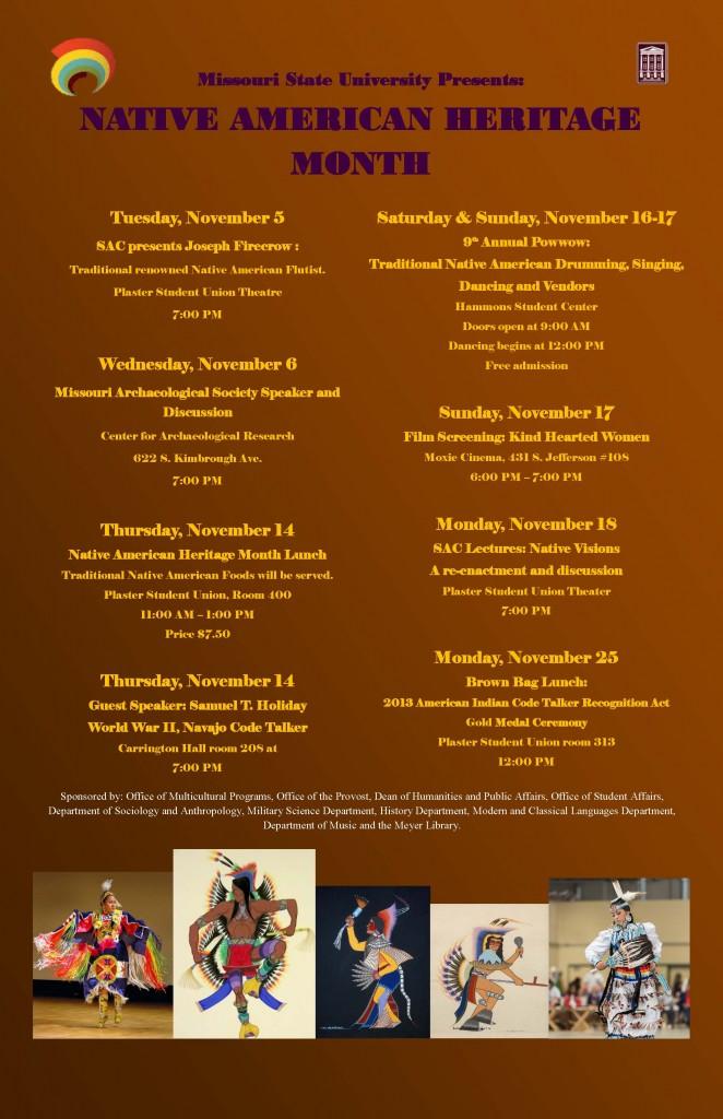 NAHM Calendar 2013