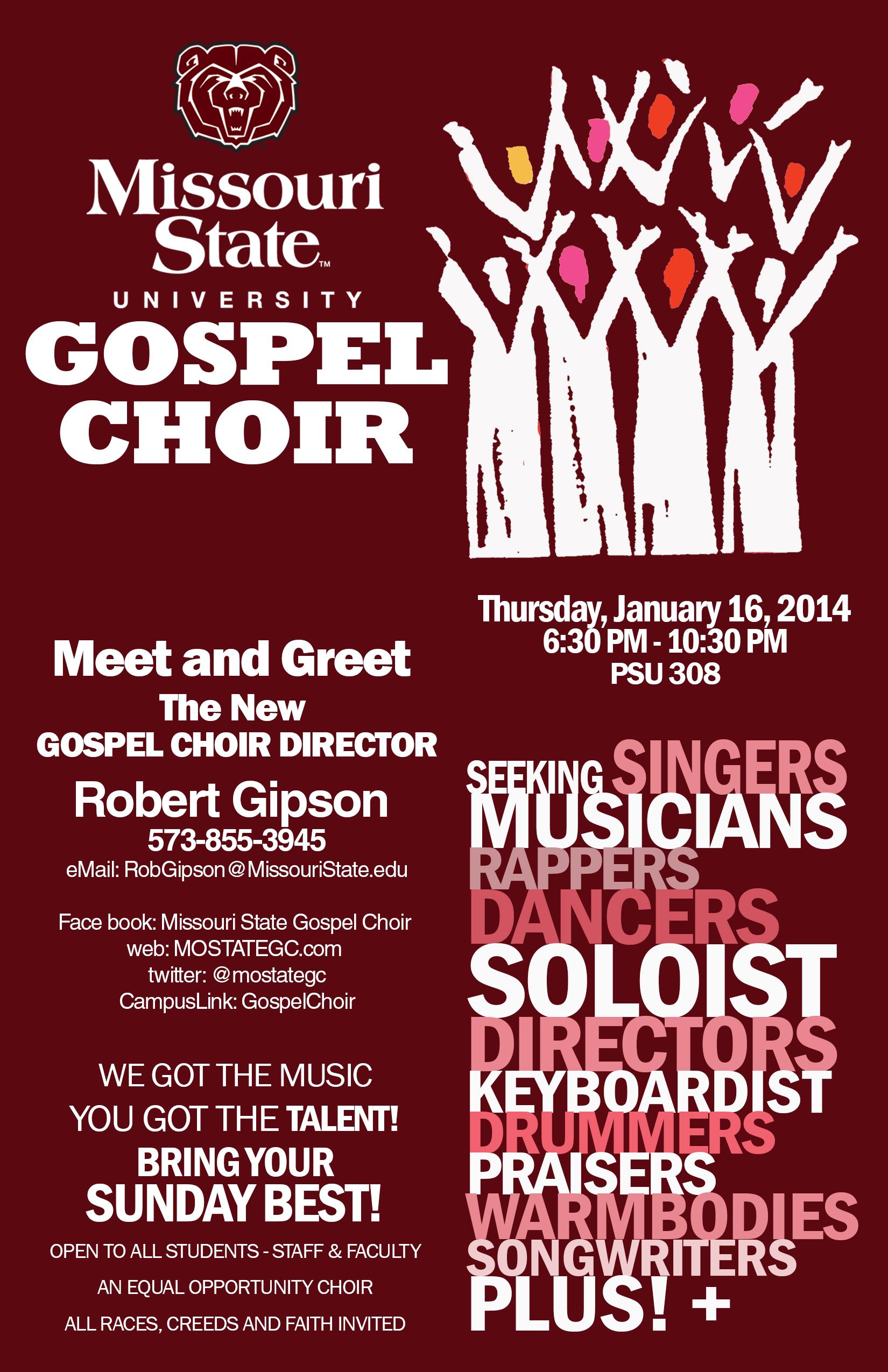 Gospel Choir Meet & Greet