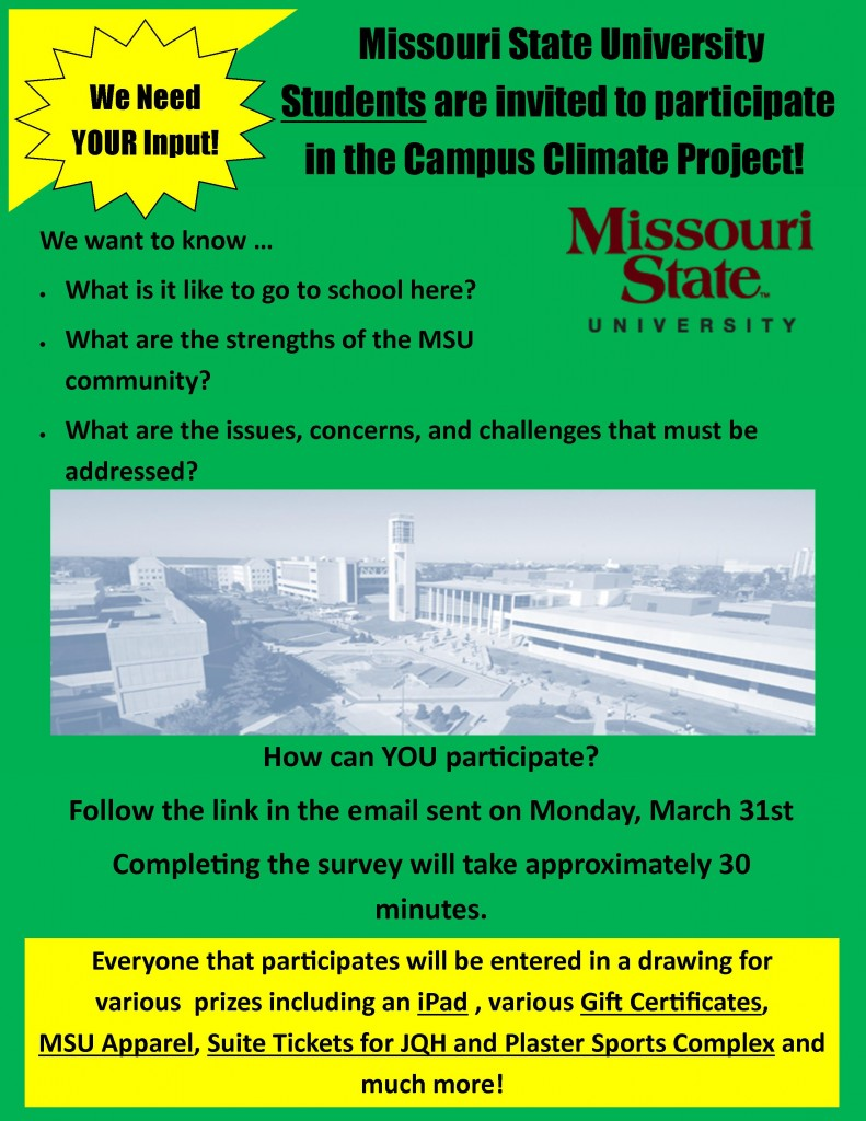 Climate Study Flyer_Student