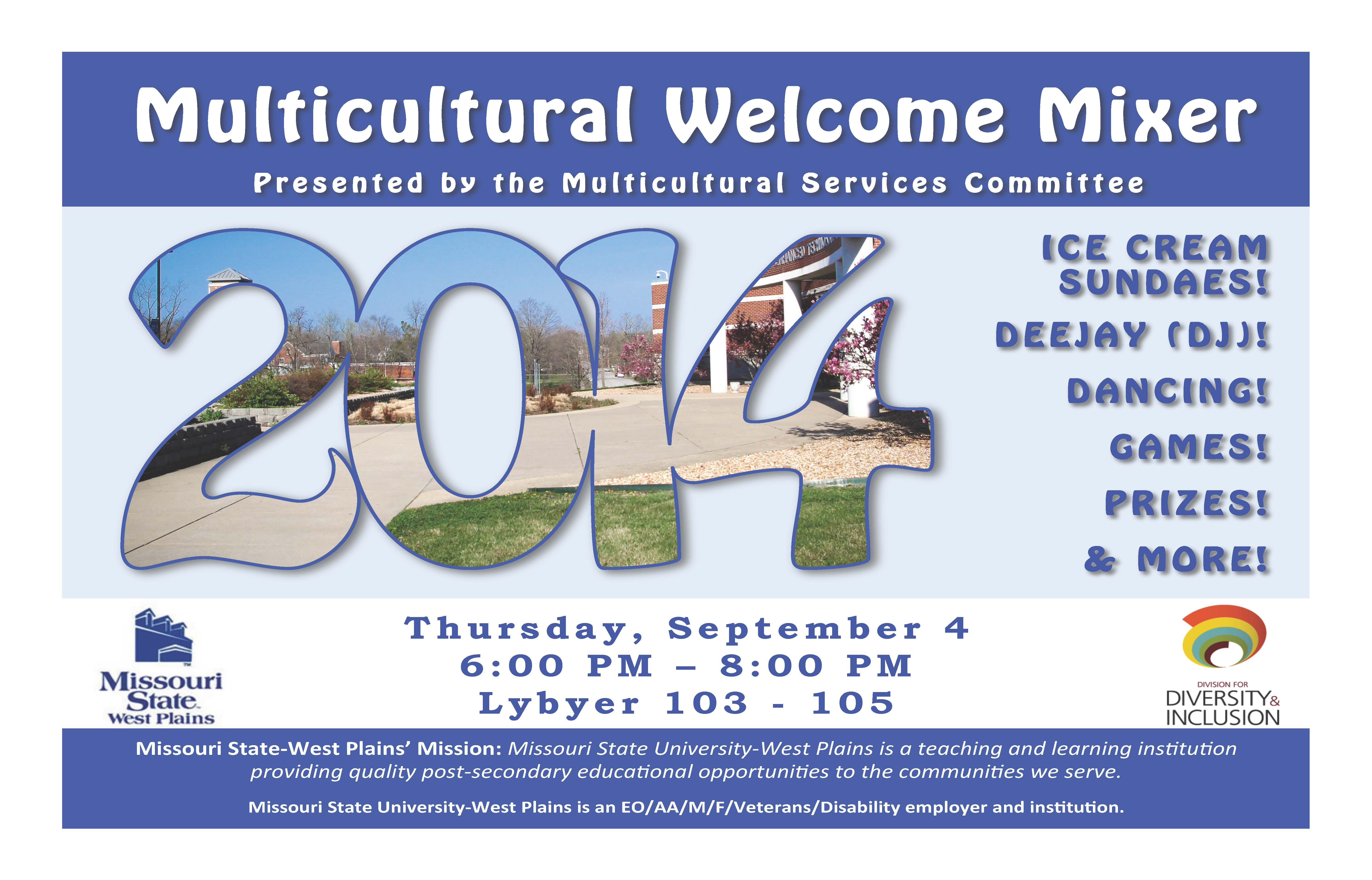 West Plains Multicultural Welcome Mixer