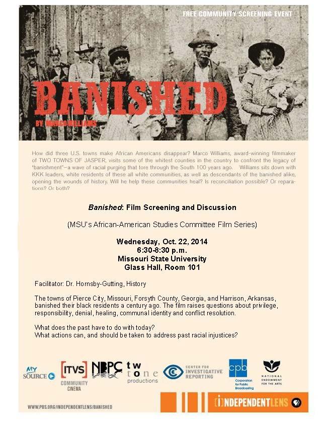 Banished Film Flyer