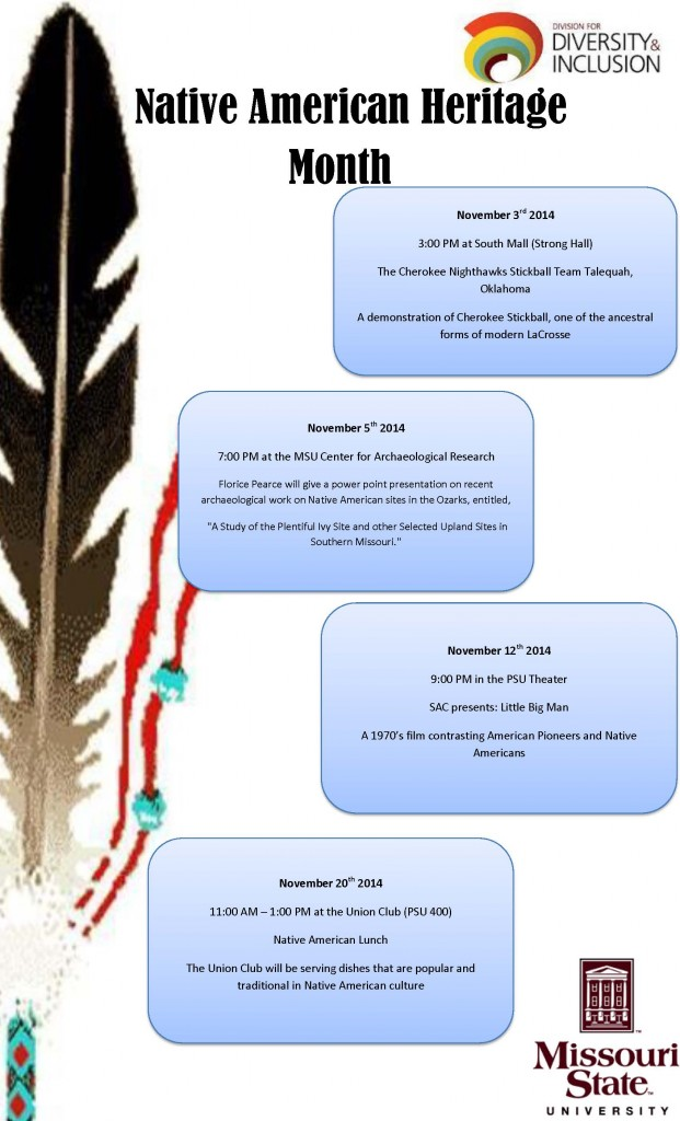 Native American Heritage Month 2014