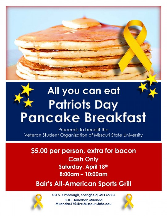 VeteranPancakeBreakfastFlyer