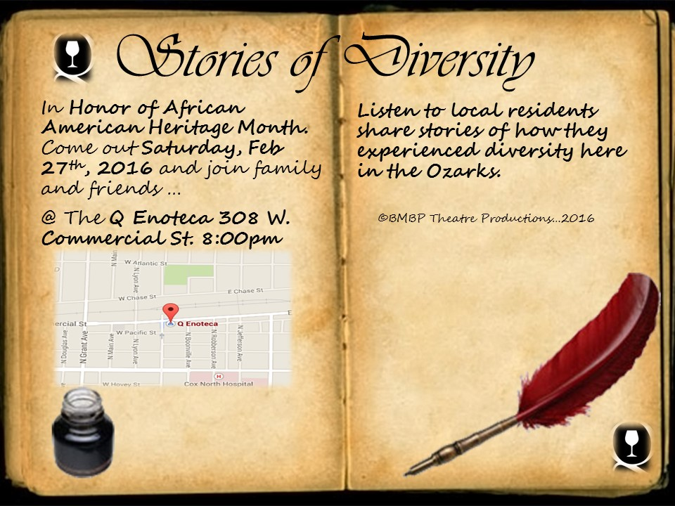 EVENT: Stories of diversity