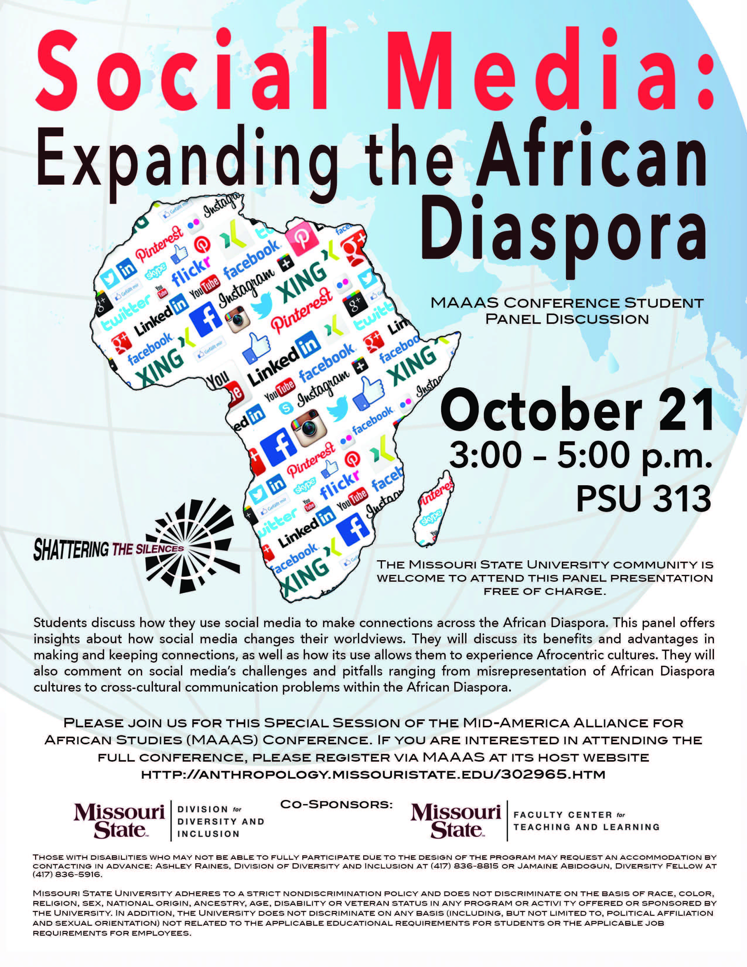Shattering the Silences Series: Social Media: Expanding the African Diaspora