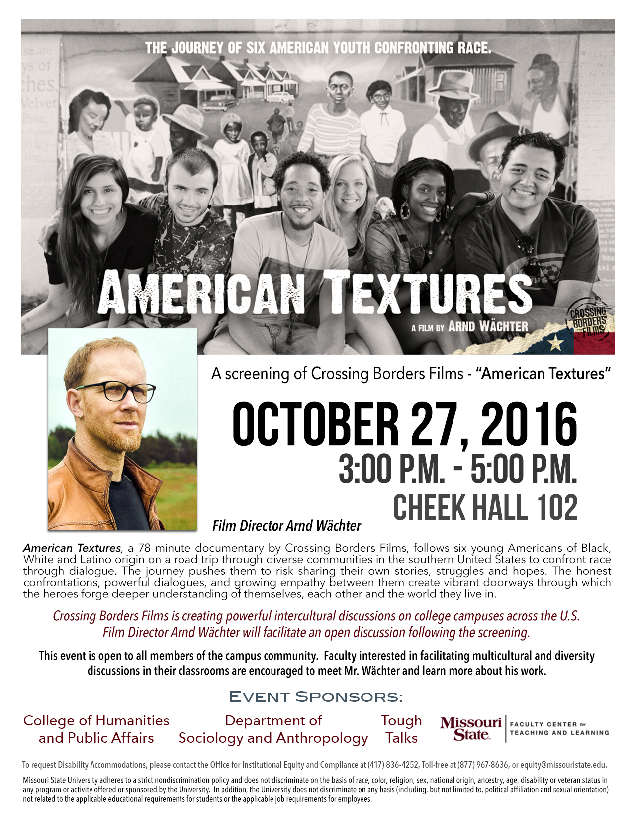 Tough Talk Special Session: American Textures