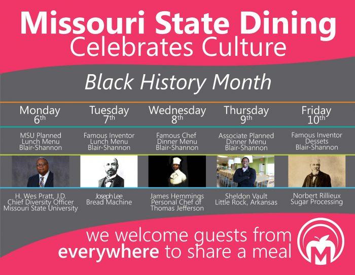 Missouri State Dining Celebrates Culture