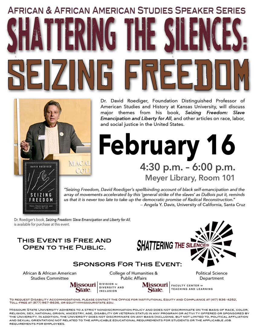Shattering the Silences: Seizing Freedom