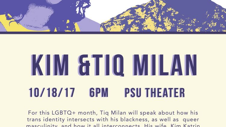 Shattering the Silences Series & LGBTQ+ Pride Month Event: Kim and Tiq Milan