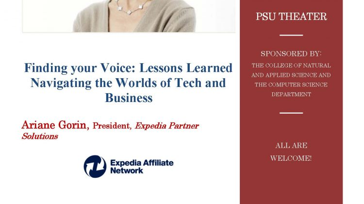 Finding your voice: Lessons learned navigating the worlds of tech and business