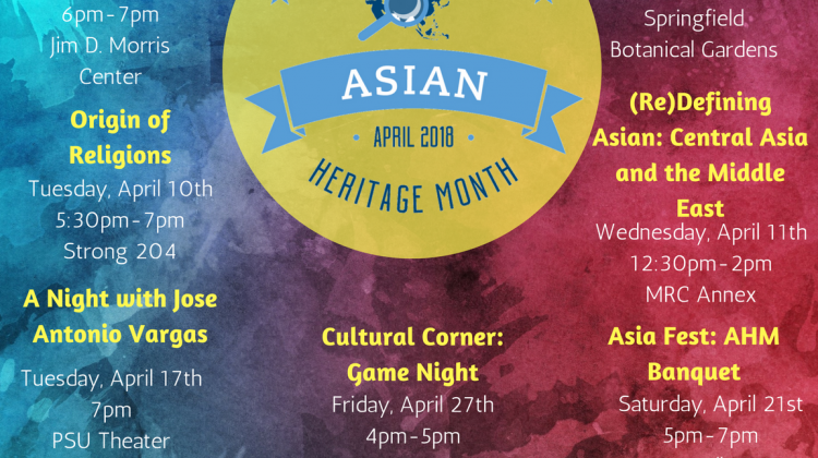 Asian Heritage Month Events